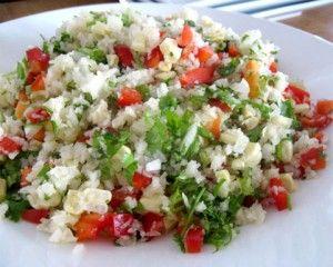 Foto de platillo de arroz a la mexicana crudivegano por Chef Ale Perez