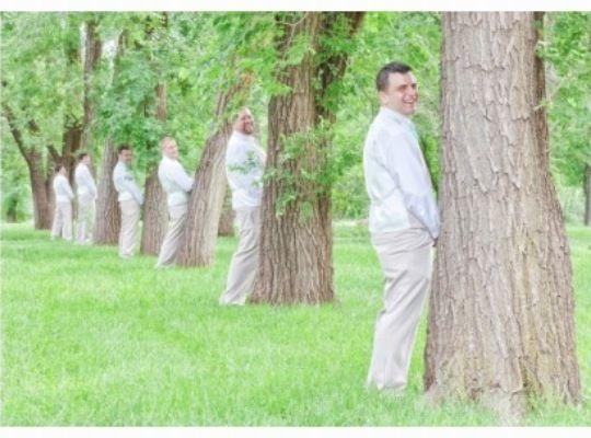 """My husband and his groomsmen :)"" - Tiffany Barnett Kinsey"