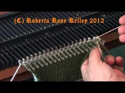Grafting on the knitting machine ~ 3 ways