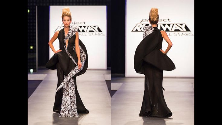 Edmond Newton's Project Runway All Stars Season 6, Episode 7 Final Look