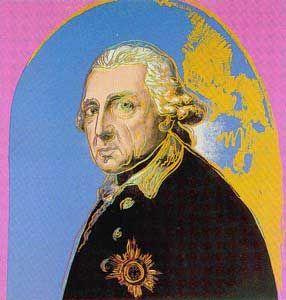 Andy Warhol - Friedrich der Große - jetzt bestellen auf kunst-fuer-alle.de