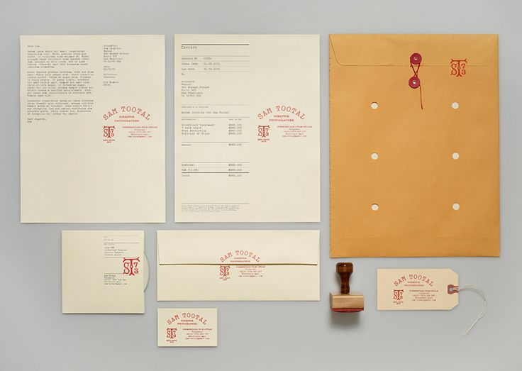 Sam Tootal - DP branded collateral package   Designer: Manual - manualcreative.co...