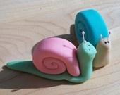 Fondant snail