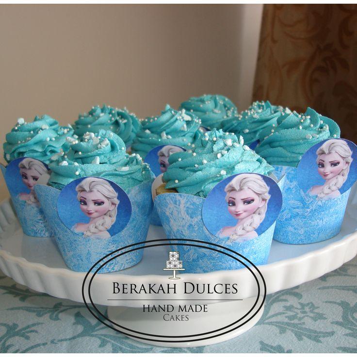 Inspired Frozen cupcakes
