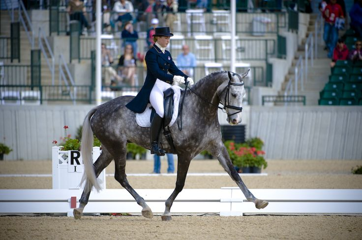 Rolex: USA's Coudray Springs into Lead After Dressage at 2011 Rolex Kentucky Three-Day Event