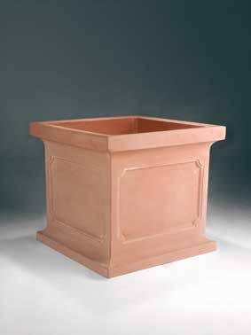 Large Estate Square Resin Planter Perfect For Commercial Applications    Warranty