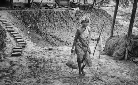 The Village Woman Photo by Indranil Dutta — National Geographic Your Shot