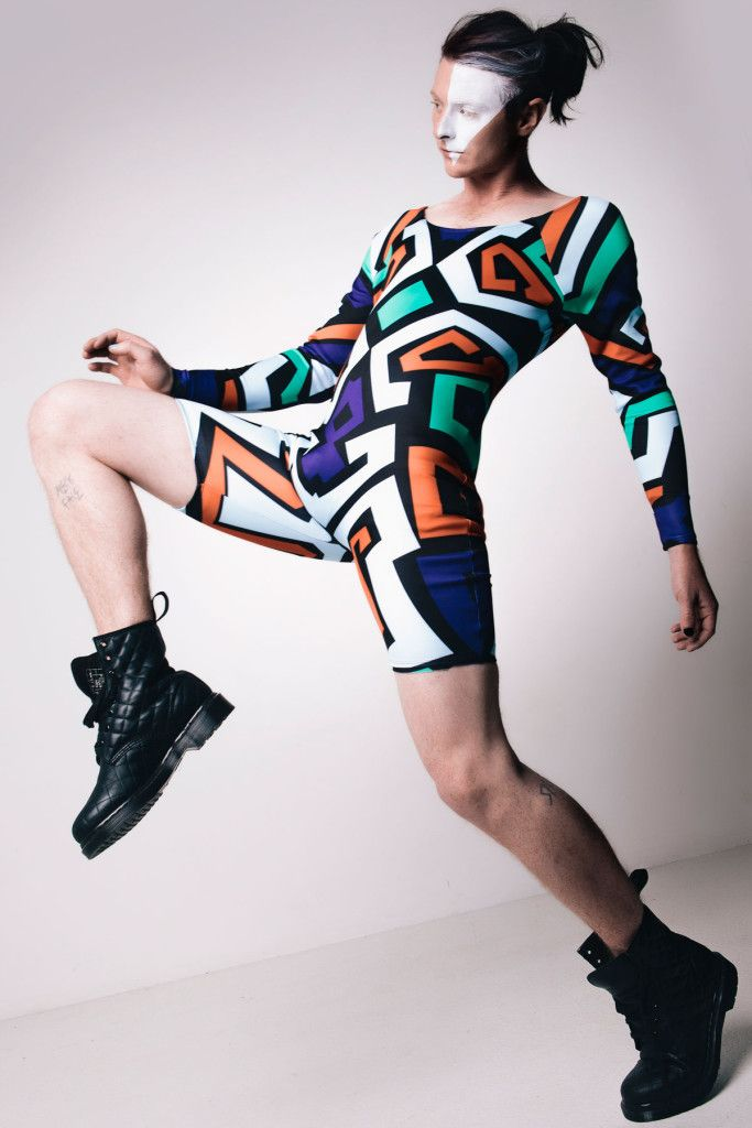 Digital Fabric Printing for Melbourne fashion designer Erik-Yvon