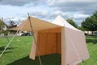 Square Slant Wall Tent 9ft WHITE 2 ZIP: Sca Camping, Wall Tent, Sca Tent, Encampment, Sca Camps, Squares Slanted, 3Bf Ideas, Tent 9Ft, 9Ft White