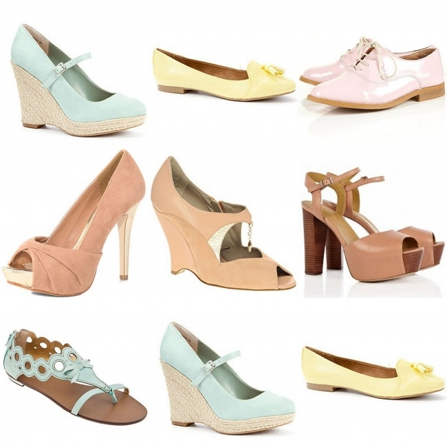 pastel schoenen: Trends Alarmı, Shoes Yo, Happy Feet, Pastel Renkler, Pastel Schoenen, Shoes Shoes, Pastel Color, 2012 Trends, Color Trends