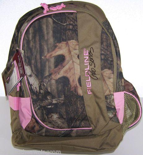 CAMO Pink Bookbag BACKPACK NEW MOSSY OAK Pro Series #eBay