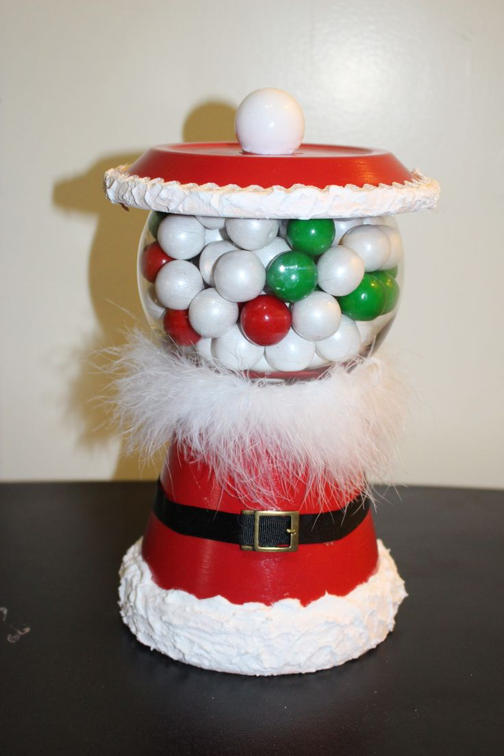 SWEET TOOTH ~ Here is a great craft project to make a candy jar from a terra cotta clay pot.