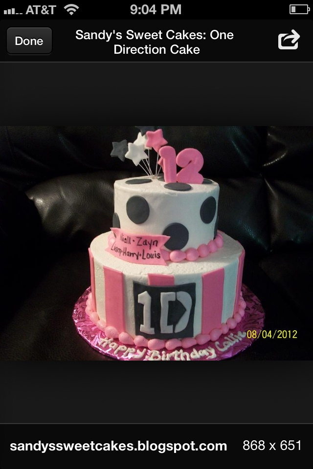 7 best one direction cake ideas images on Pinterest Cake ideas