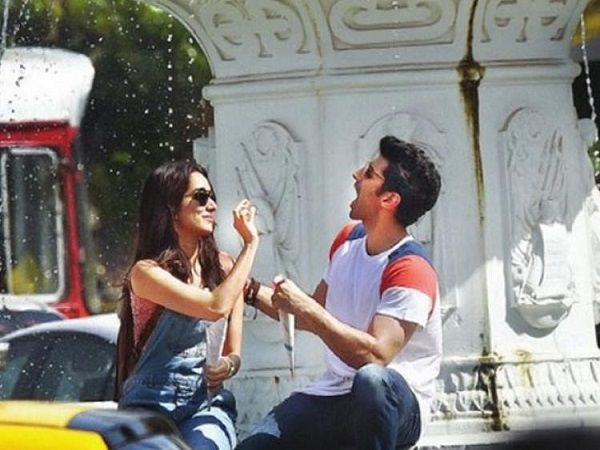Dharma Productions has released a new still from their upcoming movie 'OK Jaanu', wishing the lead actor Aditya Roy Kapur a very happy birthday.