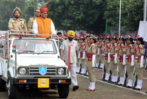 #‎IndependenceDay‬ celebrations at parade ground sector-17 ‪#‎Chandigarh‬. Read full news here http://goo.gl/wLHCkK