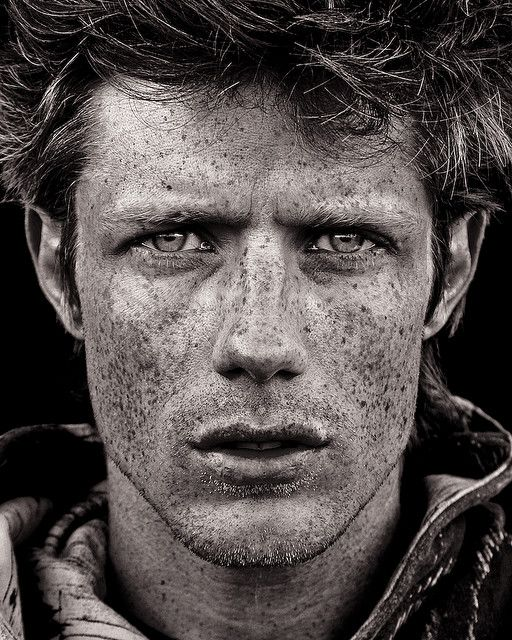 Joel with Freckles.  I don't know who Joel is but I sure like his face. (this caption was here before, but I agree) :)
