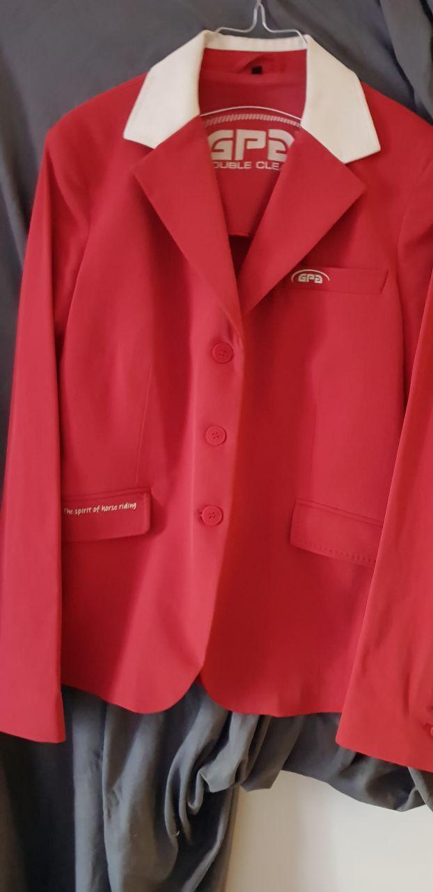 2 vestes de concours CSO / Dressage GPA Taille