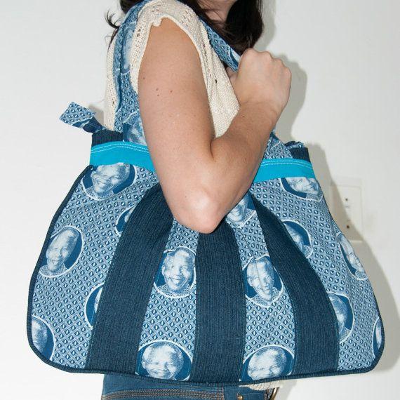 Madiba big bag   Etsy listing at https://www.etsy.com/listing/184459532/big-madiba-handbag-made-from-south