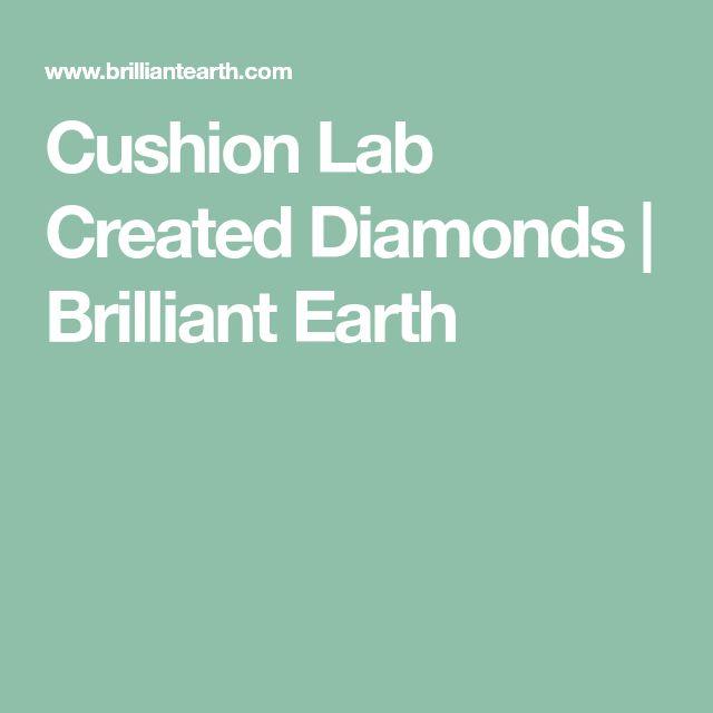Cushion Lab Created Diamonds | Brilliant Earth
