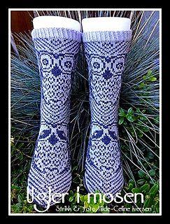 Ugler i mosen http://www.ravelry.com/patterns/library/ugler-i-mosen-sokk