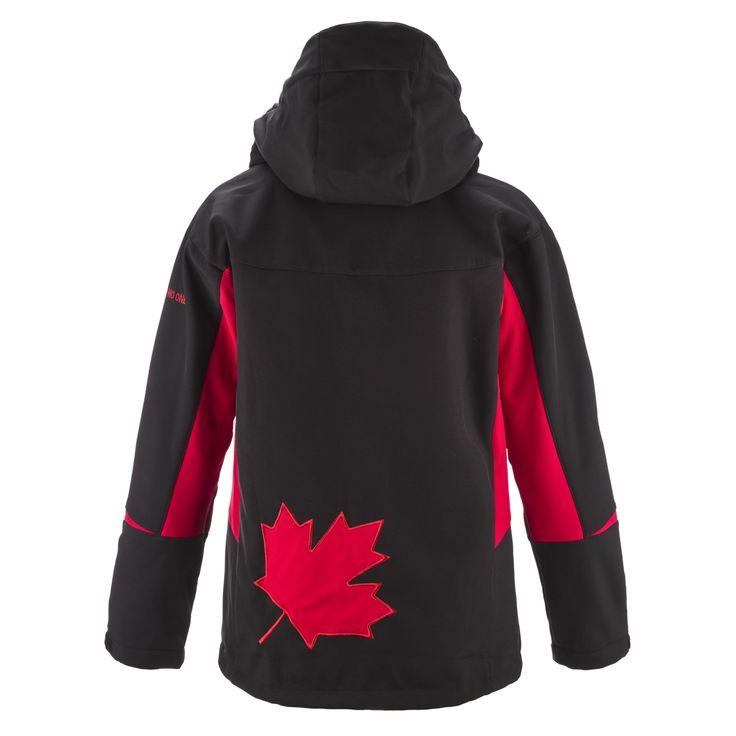 Mens Kalapattar Jacket - Black / Red. Women love it too !