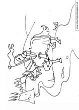Children's ideas for St Georges Day Colouring