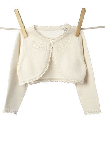 Baby Girls Embroidered Cardigan