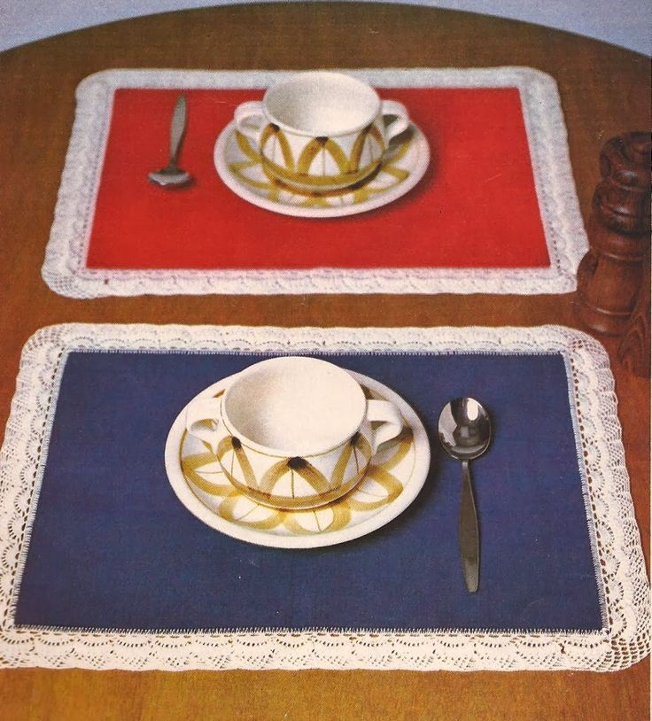 Esquemas   CTejidas: Set para el Desayuno -> http://esquemas.ctejidas.com/2012/11/set-para-el-desayuno.html