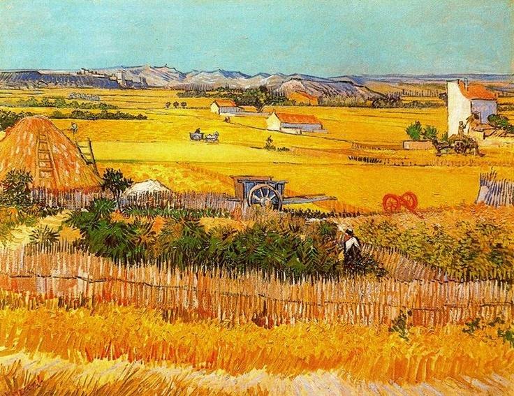 빈센트 반 고흐 [Vincent van Gogh] - 수확(The Harvest)