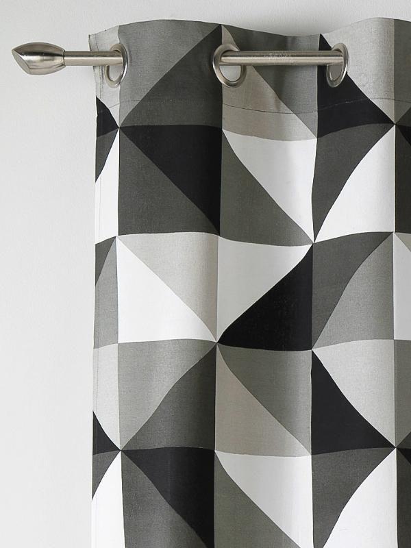 1000 id es sur le th me rideaux blancs noirs sur pinterest rideaux blancs - Rideaux noir et gris ...