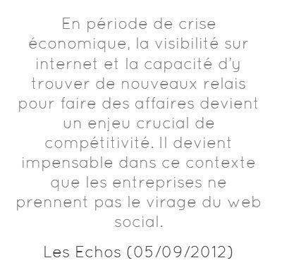 Entreprises et web social