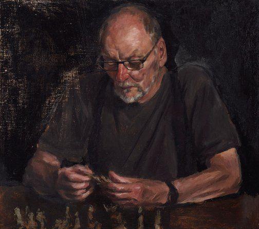 Jordan Richardson: John :: Archibald Prize 2017 :: Art Gallery NSW