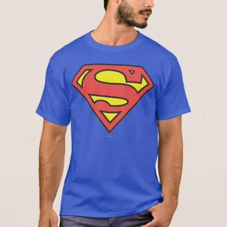 Superman S-Shield | Superman Logo T-Shirt - tap to personalize and get yours