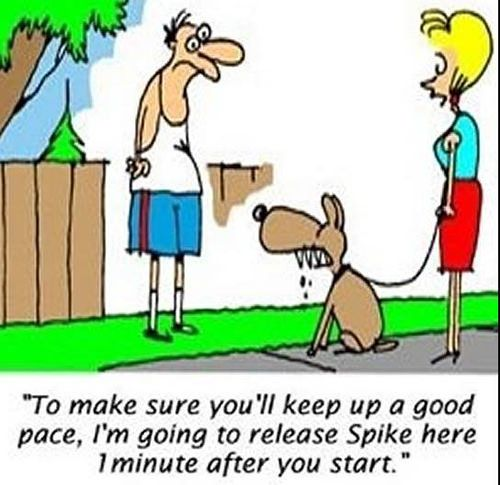 Running Humor #2: Running And Dog Humor