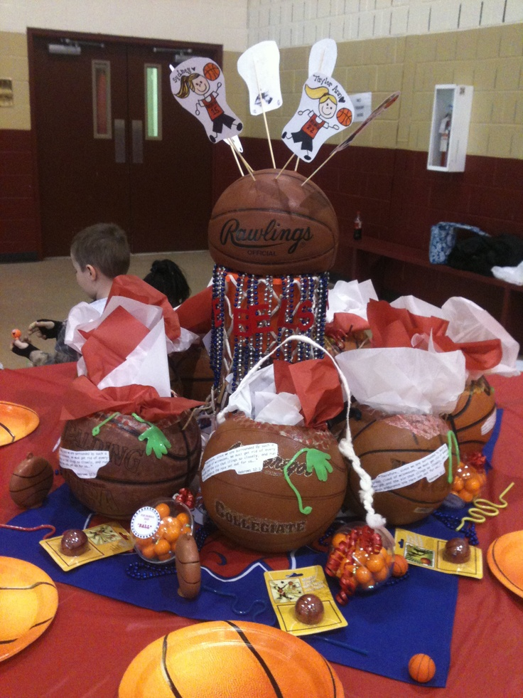 44 Best Images About Basketball Decorations On Pinterest
