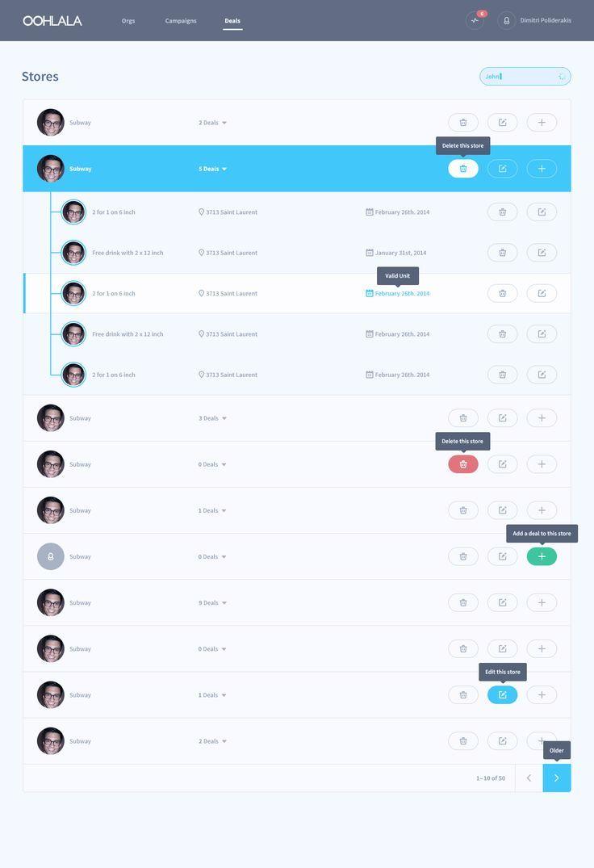 table ui - Buscar con Google