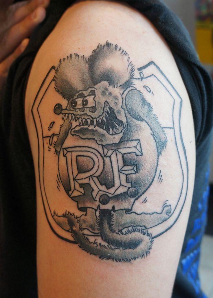 rat fink tattoo by jetblackninja on deviantart rat fink pinterest rat fink rats and. Black Bedroom Furniture Sets. Home Design Ideas