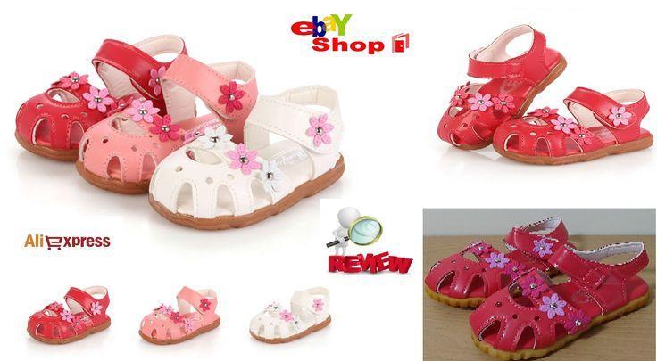 Cheap online shopping Haul Children  Spring Flats Sandals Girls Kids Pri...