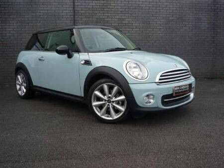 Ice blue mini cooper...love!! This is my car hopefully!!
