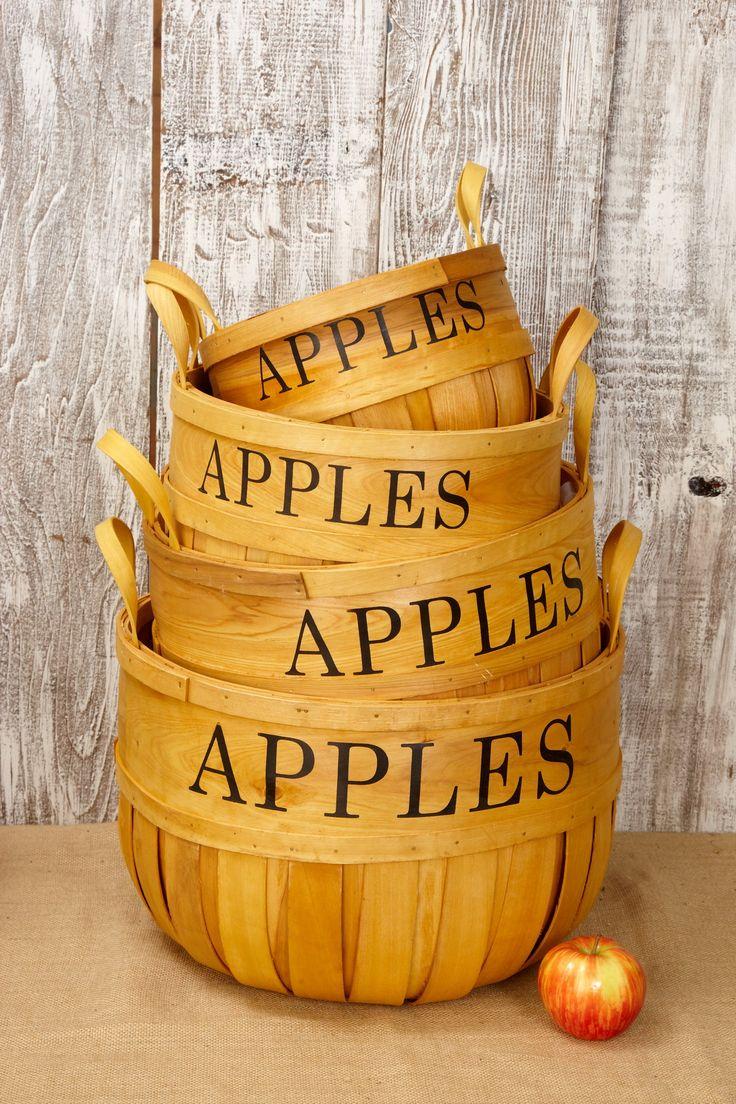 Best 10+ Apple baskets ideas on Pinterest | Diy xmas decorations ...