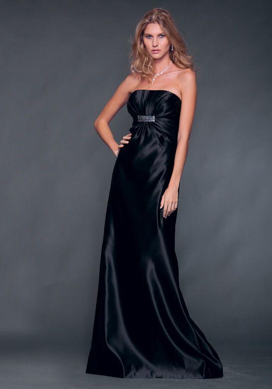 european dresses | Strapless European Satin Bridesmaid Dress Style | Wedding Dress For ...