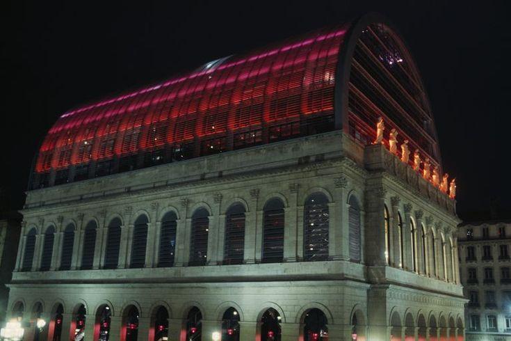 National Opera of Lyon Renovation by Architect Jean Nouvel