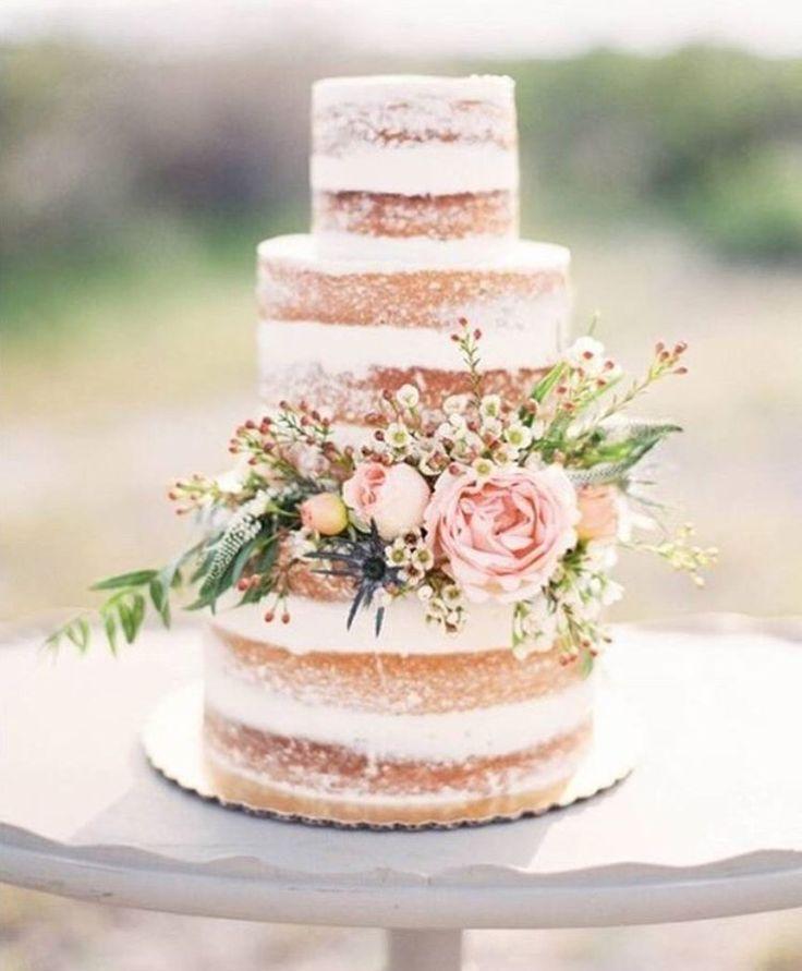 I like the cake - not the flowers.