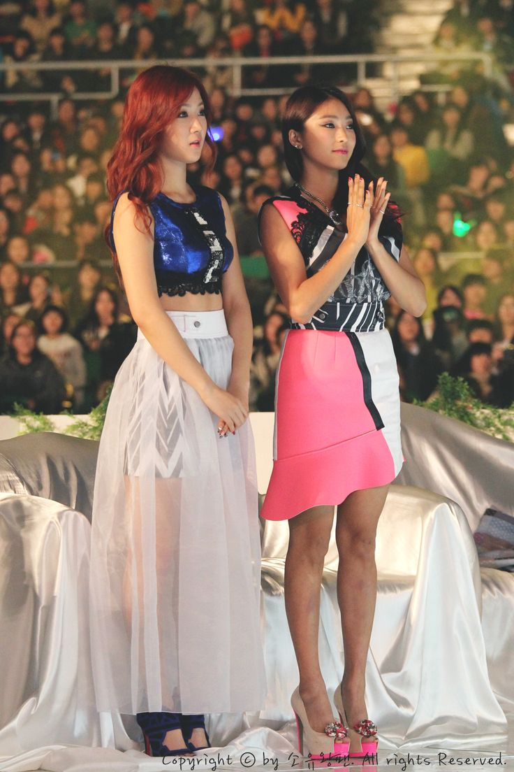 Sistar SoYoo and BoRa
