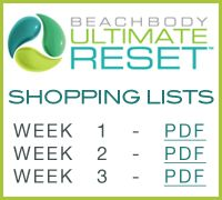 Ultimate Reset Shopping Lists