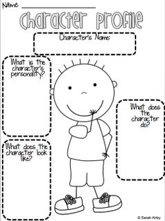 "Permanently Primary: Character Profile-Can NOT wait to do this with ""No, David!"" :)"