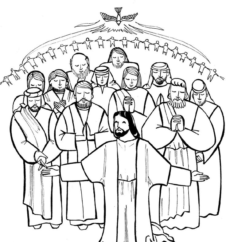 All Saints Day Coloring Pages | Sunday school coloring ...