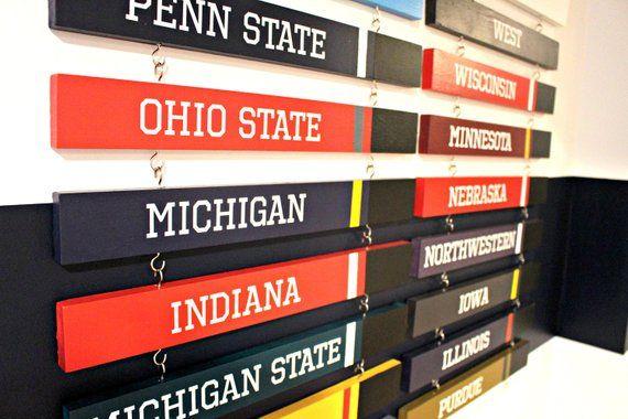 Custom Standings Board Display - Football, Baseball, Hockey