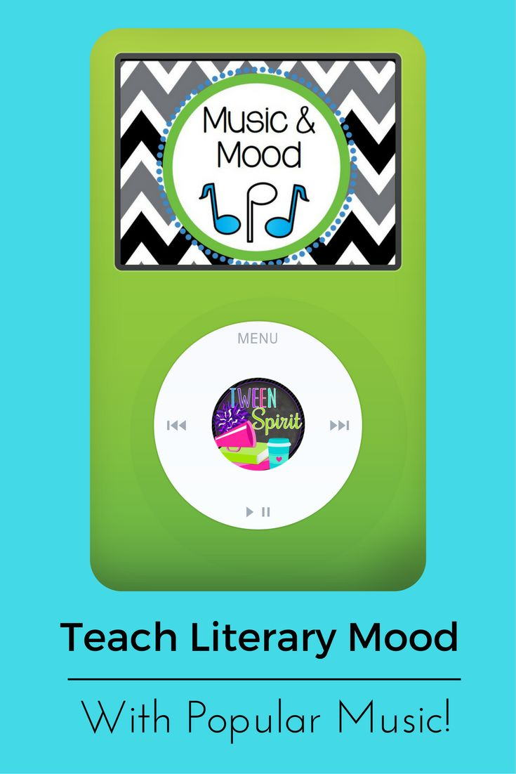 Mood - Literary Terms made fun!  Mood isn't just found in literary works...this group and individual project is a great way to get students thinking about MOOD from exploring music in movies and analyzing current popular songs!  Students will work together to evaluate songs from movies and how the songs impact the mood, or emotional response, of the viewer. Students will also think of current songs which evoke an emotional response. Two writing prompts are included to help students show…