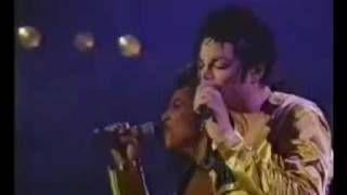mj i just can't stop loving you live - YouTube